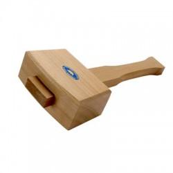 Marreta de madeira de faia CROWN