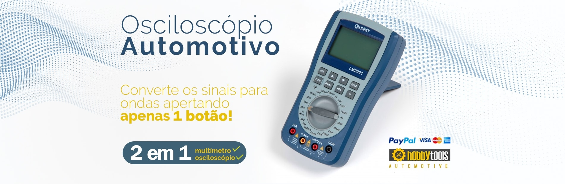 Osciloscópio Automotivo